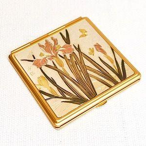 Vintage Art of Chokin Compact Pocket Mirror